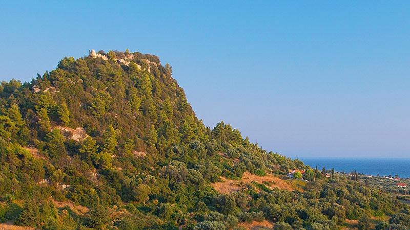 Κάστρο Ρηνιάσσας - Σημεία Ενδιαφέροντος